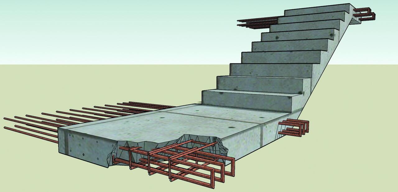 каркас площадка со ступеньками с арматуры картинка часть событий цикла