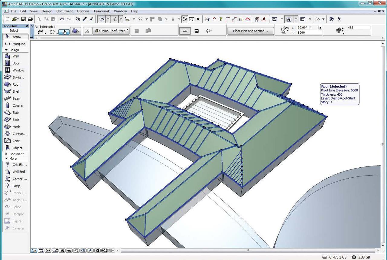 Как фасад в архикаде сделать 715