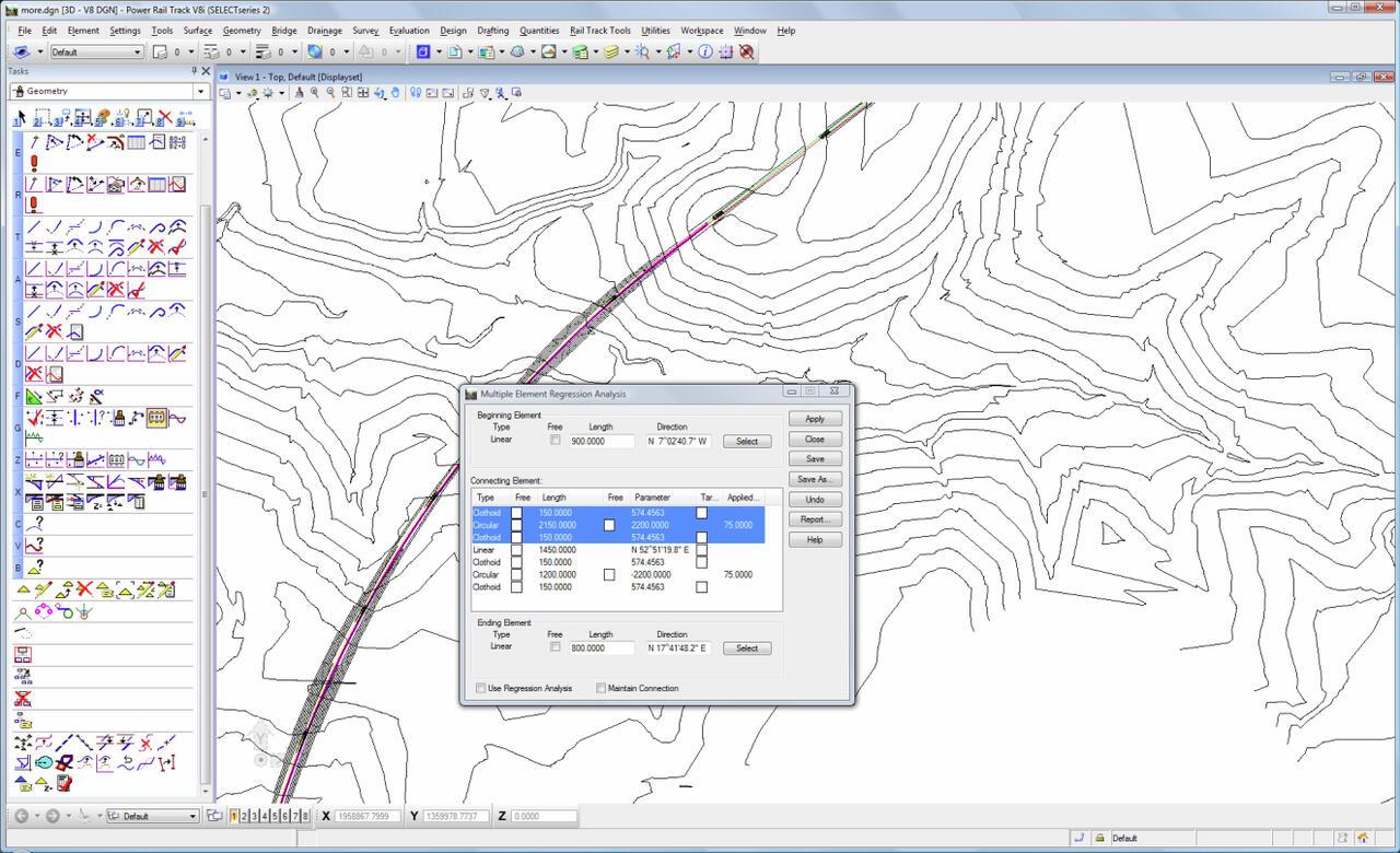 Программу для проектирования железных дорог