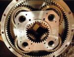 Редуктор механизма подъема самоподъемной буровой установки и его детали
