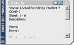 Рис. 9. Нижняя часть окна Sheet Set Manager позволяет увидеть свойства выбранного листа...