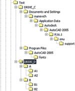 Рис. 16. Структура папок, полученная при распаковке комплекта по методу Keep files and folders as is