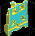 Рис. 4. Модель керамической оболочки