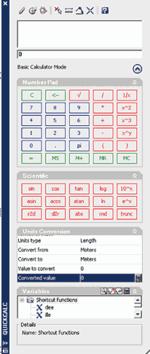 Рис. 15. Новый математический калькулятор Quickcalc