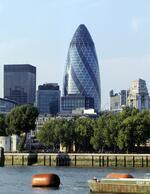 Архитектурный шедевр Нормана Фостера – «огурец» (Лондон, Великобритания)
