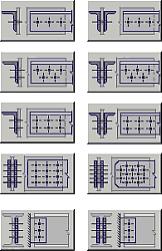 Рис. 7a. «Болтовые соединения»: конструкции