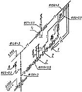 Рис. 3. Аксонометрическая схема по ГОСТ