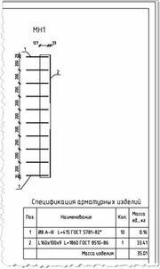 Рис. 15. Оформленный в СПДС фрагмент чертежа