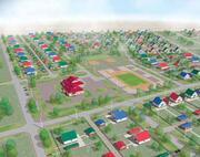 Северо-восточный жилой квартал в рабочем поселке Полтавка Омской области на 225 одноквартирных домов