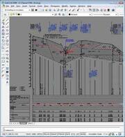 Пример участка профиля, спроектированного средствами программы