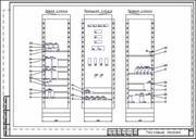 Пример трехмерной компоновки щита