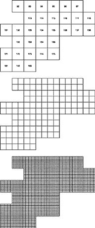 Рис.1 Для выбранных масштабов сетка генерируется автоматически