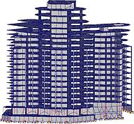 Рис. 7. Модель в режиме презентационной графики
