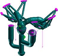 К расчету НДС основной рамы двигателя, газоводов и выходного коллектора (ОАО НПО «Энергомаш»)