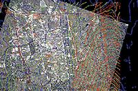 Использование растровой информации для анализа места застройки - карты местности, аэрофотоснимка, почвенной карты, плана