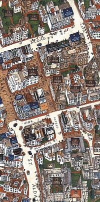 Зарубежные картографы не забыли опыт предков и давно стали издавать трехмерные карты - правда, вычерченные перышком