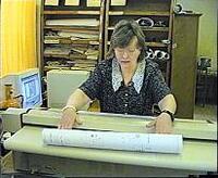 Сканирование документации на сканере Vidar TrueScan перед помещением в электронный архив и тиражированием