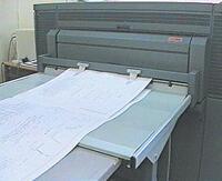 Тиражирование КД на плоттере Oce 9700