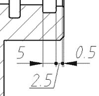 Где это необходимо, MechaniCS сам заменит стрелки на точки