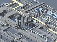 Рис. 2. Пример работы новых приложений Autodesk Building Mechanical