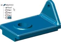 Базовые тела, импортированные из других систем твердотельного моделирования, могут дорабатываться параметрическими средствами MDT