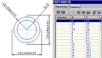Подключенная таблица параметров в MechWizard