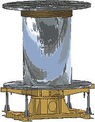 Модель лебедки комплекса кабелеукладочного оборудования, выполненная в Inventor. Комплекс предназначен для прокладки кабеля по дну моря