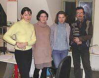 Группа слушателей архитектурного бюро УНИО-А