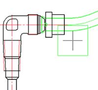 Автоматическое определение типоразмера и точки вставки ниппеля