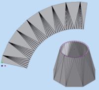 К выходу готовится еще один модуль COPRA MetalBender TD-i - SheetMetal Lofting, который позволяет создать тонколистовую разворачиваемую деталь, соединяющую два произвольных контура, всего за несколько секунд!