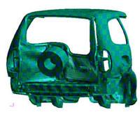 Расчеты, проведенные в процессе доводки автомобиля по требованиям пассивной безопасности (АвтоВАЗ)