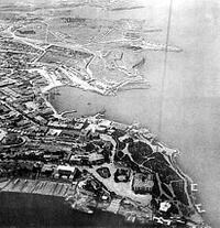 Генплан города в архивных снимках