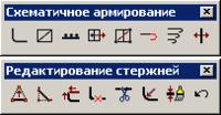 Рис. 1. Панель Схематичное армирование