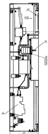 Рис. 4. Пример. Фрагмент оформления электромонтажного сборочного чертежа