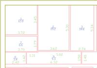 Автоматическая простановка размеров в помещении
