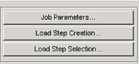 Рис. 7. Кнопки для настройки параметров решения