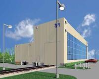 Создание реального трехмерного образа будущего здания