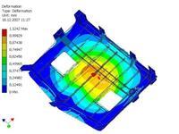 Рис. 6. Виртуальная проверка возможности монтажа ГД с водометом