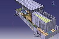 Рис. 9. Использование 3D-модели судна для определения последовательности объемной сборки судна (проект «Стоечное судно – понтон – заправка»)
