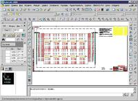 Рис. 2. Оформление электрической схемы соединений агрегата (ElectriCS 7 Pro Авиация)