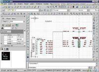 Рис. 3. Оформление электрической схемы соединений системы (ElectriCS 7 Pro Авиация)