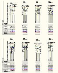 Рис. 16. Оформленные переходы ВЛ через пересечение