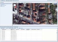 Рис. 3. Совместная визуализация результатов поиска с материалами Google Maps