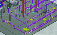 Система трубопроводов в Model Studio CS Трубопроводы