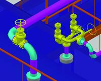 Редактирование свойств трубопровода. Изменение диаметра