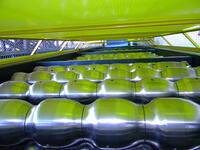 Обработка валка линии для производства металлочерепицы «Монтерей»