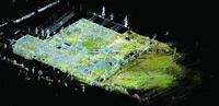 Результаты лазерного сканирования Брянской подстанции