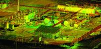 Результаты лазерного сканирования технологических установок обустройства месторождений