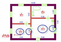 Рис. 9.2. Размеры и площади после редактирования