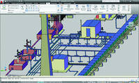 Model Studio CS позволяет создать трехмерную модель всех объектов кустовой площадки